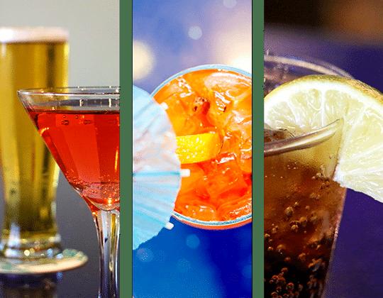 H2O Drinks | H2O Grill and Bonsai Sushi Bar | Pensacola Beach FL