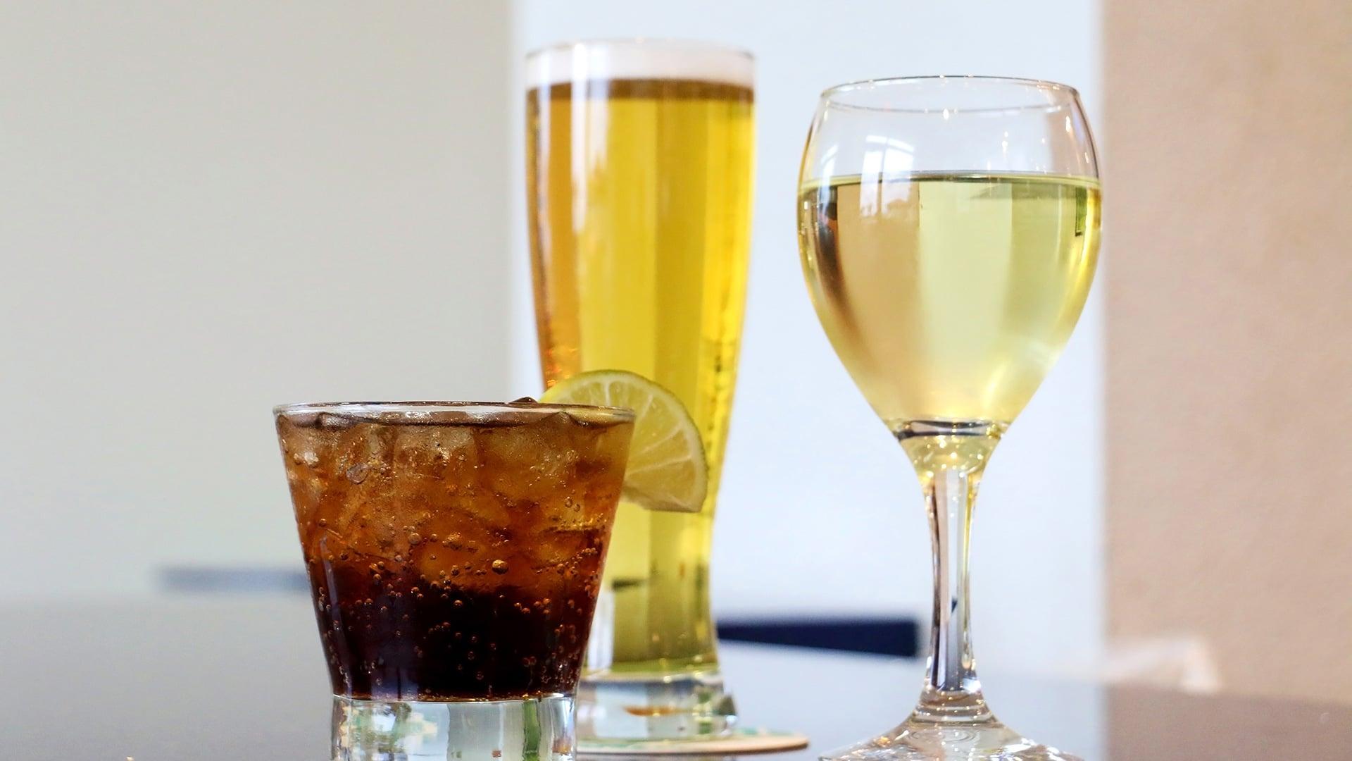 Beverages   H2O Grill and Bonsai Sushi Bar   Pensacola Beach FL