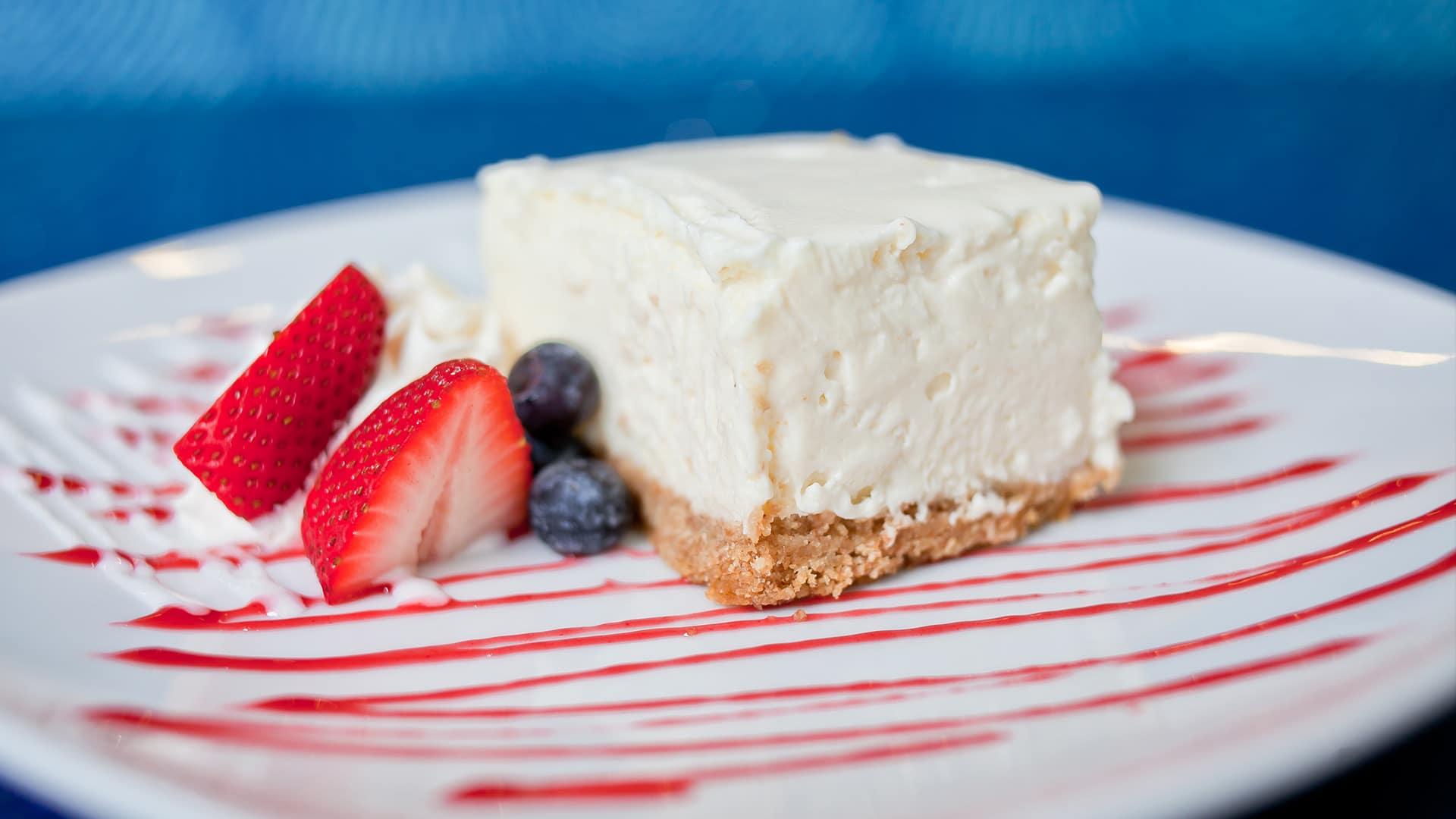 Goat Cheese Cake | Desserts | H2O Grill and Bonsai Sushi Bar | Pensacola Beach FL
