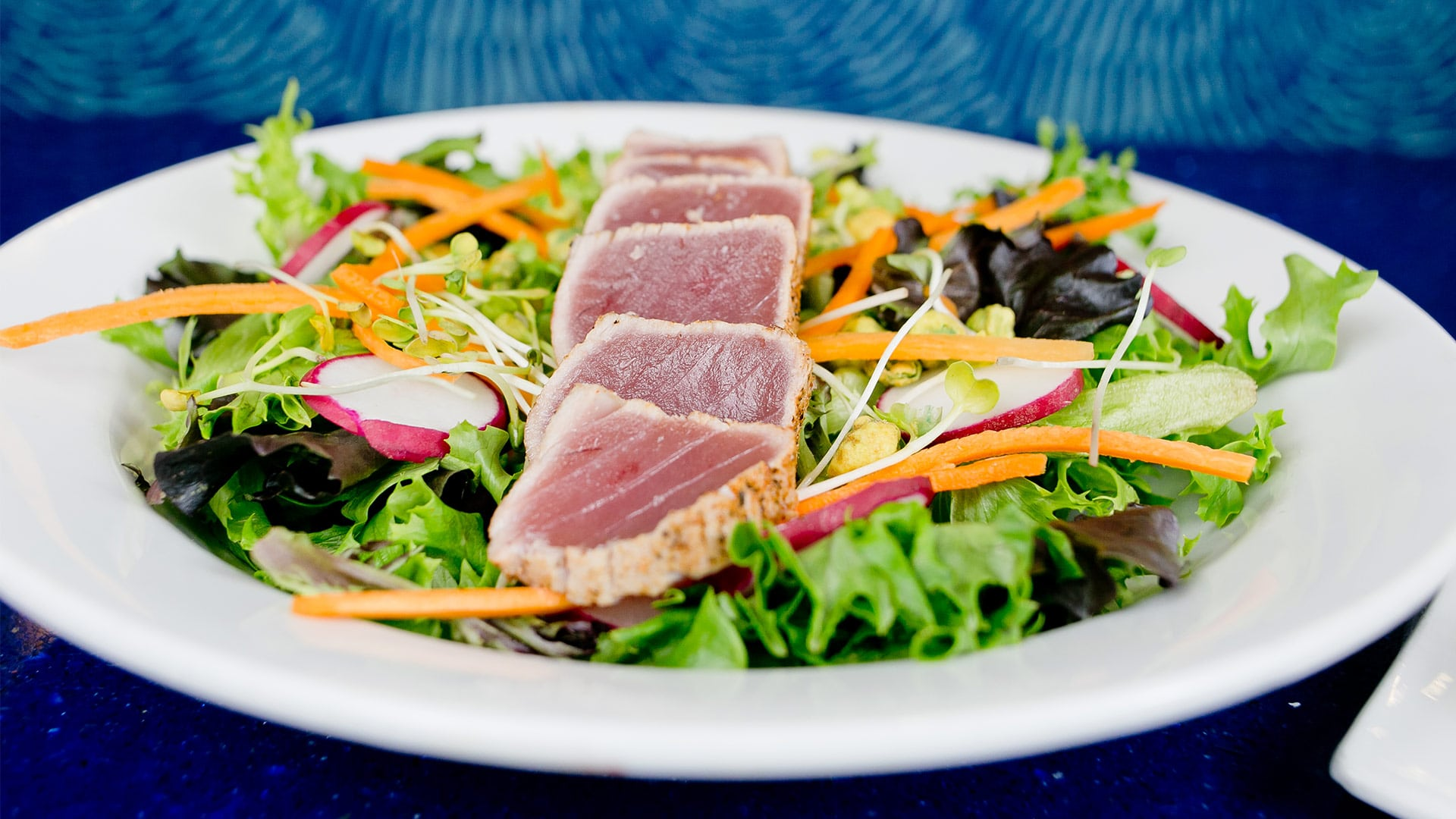Tuna Salad | H2O Grill and Bonsai Sushi Bar | Pensacola Beach FL