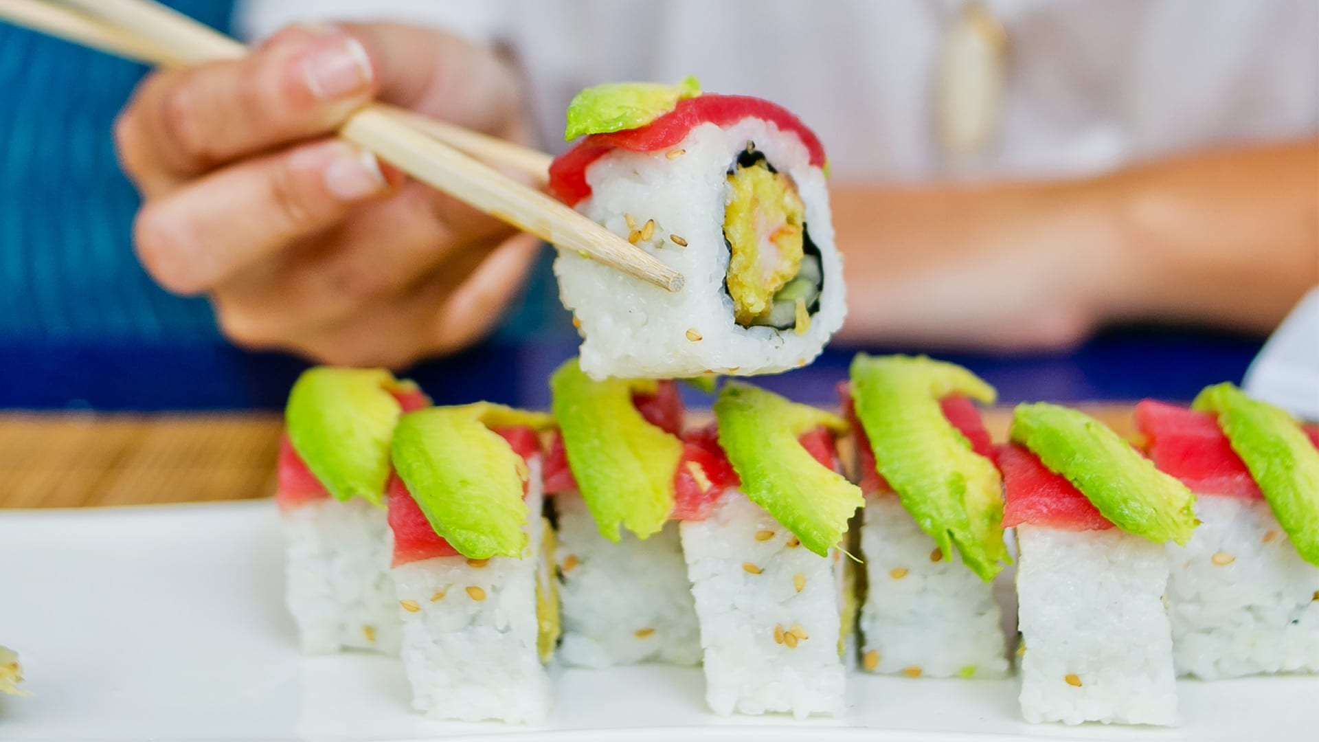 HPB Sushi Roll | H2O Grill and Bonsai Sushi Bar | Pensacola Beach FL