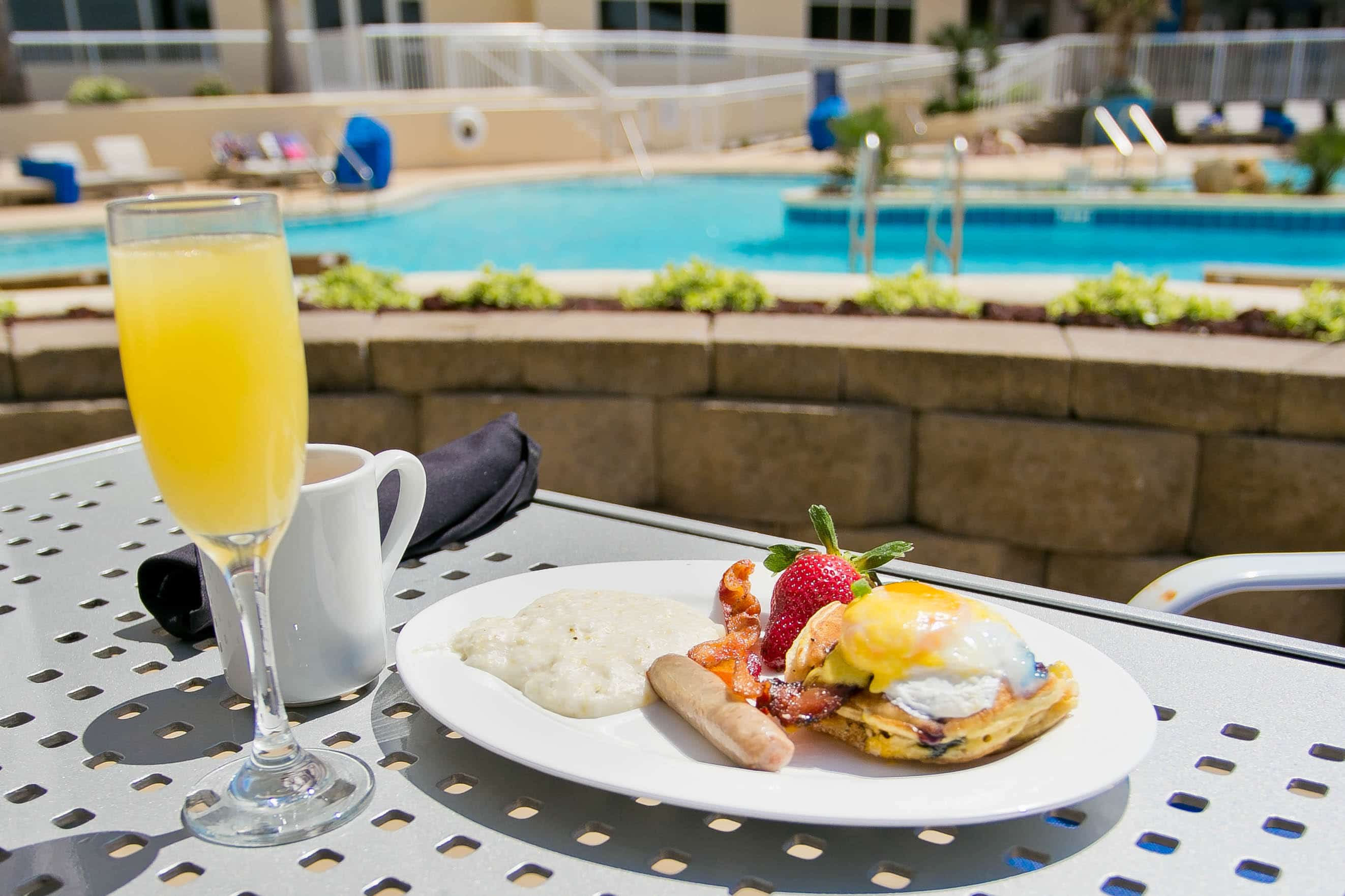 Breakfast and Sunday Brunch | H2O Grill and Bonsai Sushi Bar | Pensacola Beach FL
